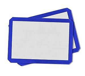 Artistone Non-Stick Blue Silicone Baking Mat, 2 Pack