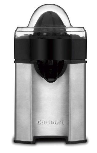 NEW Cuisinart CCJ-500 Stainless Auto-reversing Pulp Control Citrus Juicer