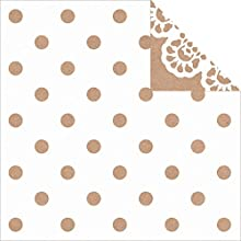 Mix amp Match Double-Sided Cardstock 12quotX12quot-Polka Dot