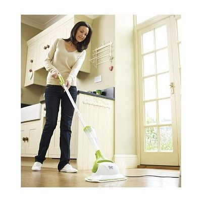 HOME-TEK HT-838 COMPLETE STEAM MOP PACKAGE (INCLUDES 2 X PADS 1 X CARPET GLIDER 1 X WATER SOFTENER)