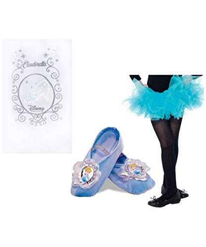 Disney Princess Cinderella Ballerina Little Girls Tutu Tights Slippers