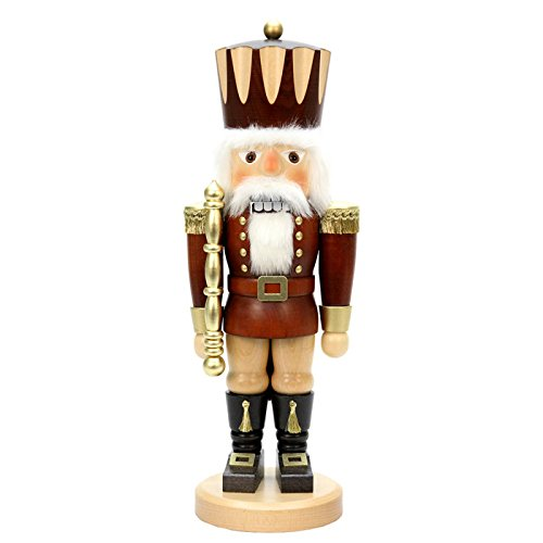 "32-960 – Christian Ulbricht Nutcracker – Nutcracker King (Natural) – 17″""H x 6.25″""W x 5.5″""D"