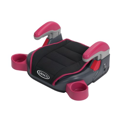 Graco Backless Turbobooster Colorz Car Seat, Cotton Candy