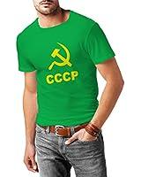 N4105 Sickle T-shirt Marteau CCCP Russie Russland Moscou UdSSR tee