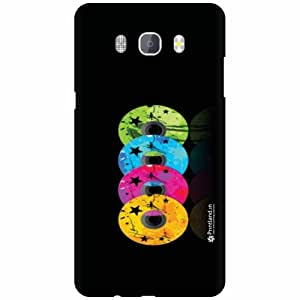 Printland Designer Back Cover for Samsung Galaxy On8 - Disc Case Cover