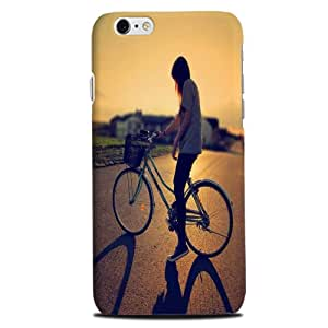 theStyleO Iphone 6 designer case and cover printed mobile back cover Girl on Cycle