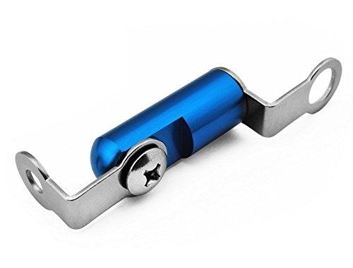 Blau Motorradrennen CNC Billet Halterung Bremsflüssigkeitsbehälter Vorderbremse Kupplung Hauptbremszylinder Halterung Universal fit für Yamaha XJR 1300 2004 2005 2006 2007 2008 2009