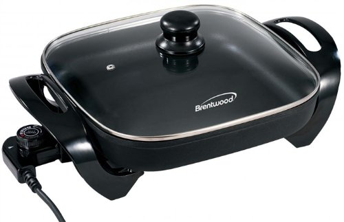 """Brand New, Brentwood - 12"""" Electric Skillet (Appliances - Small Appliances And Housewares)"""