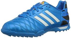 adidas  11nova TF J, Chaussures de foot pour garçon solblu/cwhite/cblack - Bleu - Blau (Solar Blue2 S14 / Running White / Black 1), 38 2/3 EU (5.5 ) EU