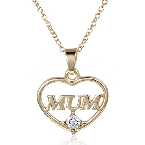 Tinksky-Collar-del-Corazn-Collar-Colgante-para-Mujer-Mam-Oro