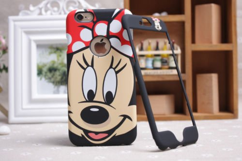 Disney Minnie Mickey Mouse Face iPhone/Samsung, Front & Back Plate, Samsung Galaxy Note 3
