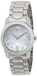 """Movado Women's 0606696 """"Moda"""" Stainless Steel Watch"""