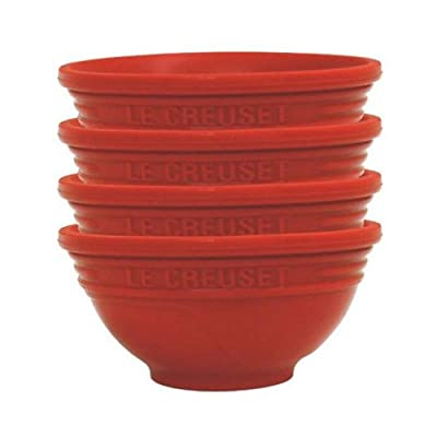 Le Creuset Silicone 1/4-Cup Pinch Bowls, Set of 4
