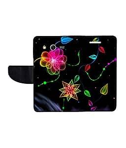 KolorEdge Printed Flip Cover For Samsung Galaxy Core 2 Multicolor - (45KeMlogo10417SamCore2)