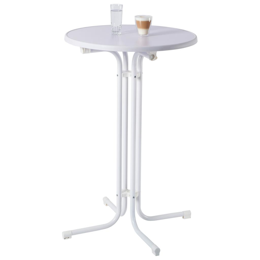Ultranatura table de bistrot pliante en plastique coburg for Table de bistrot pliante