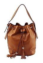 Scarleton Drawstring Shoulder Handbag H501404 - Brown