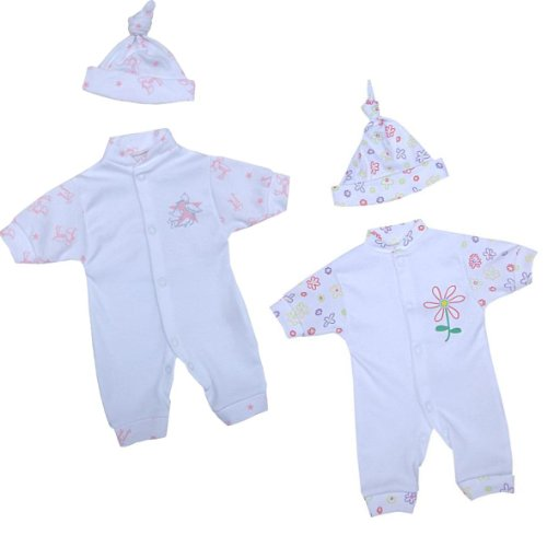 Premature Early Baby Clothes Cotton Romper &