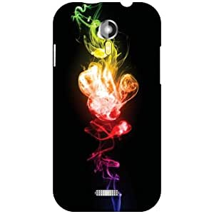 Micromax A117 Canvas Magnus Back Cover - Colored Art Designer Cases