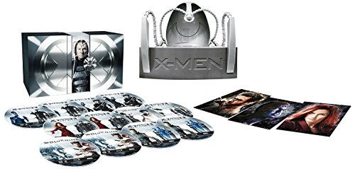 X-Men - La Collezione Completa (Limited Cerebro Edition) (9 Blu-Ray+3 DVD+Elmo)
