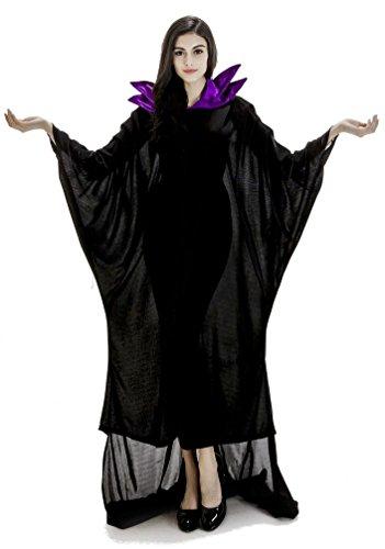 マレフィセント マント 衣装 ハロウィン コスチューム 魔女 ウィッチ クイーン 巫女 吸血鬼 ヴァンパイア 変装 仮装 ドレス クリスマス パーティー 宴会 悪魔 ドラキュラ