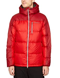 Marmot Guides Down Hoody - Men's Team Red / Brick XL