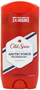 Old Spice High Endurance Arctic Force Scent Men's Deodorant 3 Oz (Pack of 4)