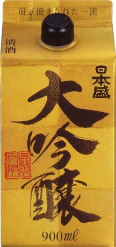 日本盛 大吟醸パック 900ml×2本