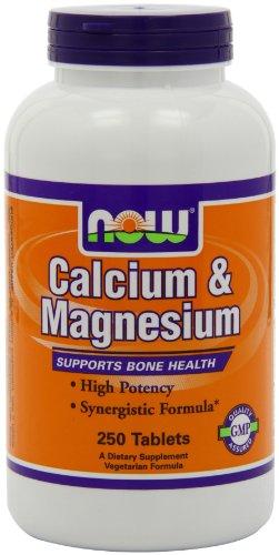 Now Foods Calcium & Magnesium,   250 Tablets