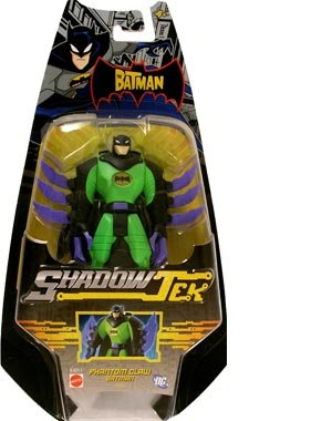 Buy Low Price Mattel The Batman? ShadowTek? Phantom Claw Batman Figure (B000P6GARQ)