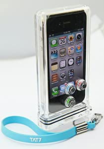 TAT7 iPhone Scuba Case (up to 30 meters /100 feet underwater) Camera Housing for Water Sports, Skiing and the Great Outdoors
