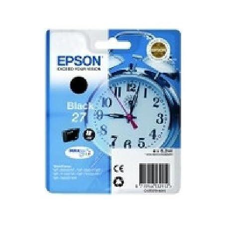 Epson original-cyan - 27-sous blister-cartouche d'encre-workForce wF pour wF-- - 3620DWF 3640DTWF-wF - 7110DTW-wF - 7610DWF-wF - 7620DTWF c13T27024010 ePS wF3620DWF iNK 3,6 300p durabrite ultra cya ml