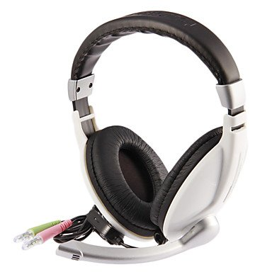 Zcl Tonsion V168 Stereo Ergonomic Over-Ear Music Headset With Mic And Remote For Pc,Cellphone