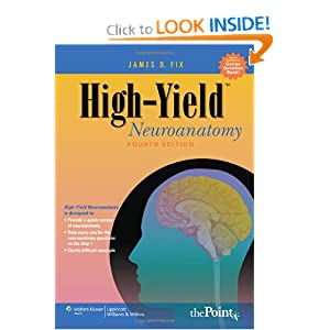 High Yield Neuroanatomy 4th edition by James D. Fix pdf