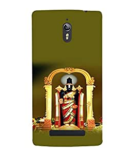 printtech Lord God Balaji South India Back Case Cover for Oppo Find 7