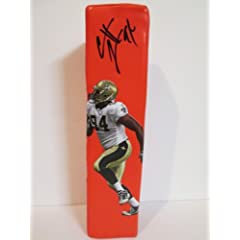Cameron Jordan Autographed Signed Custom New Orleans Saints Photo Football End Zone... by Southwestconnection-Memorabilia
