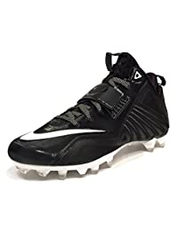 Nike Men's CJ Elite 2 TD Football Cleats (Size 9) Black & Blue 678119-014