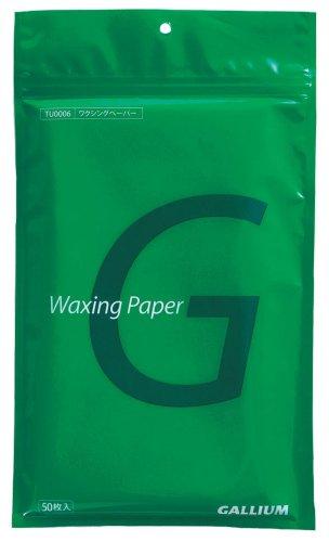 GALLIUM (GA) waxing paper (S) TU0006