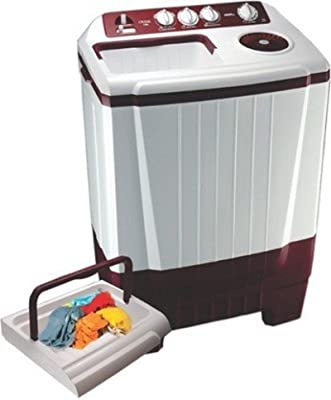 Onida WO75SBX1 Semi-automatic Top-loading Washing Machine (7.5 Kg, Maroon)