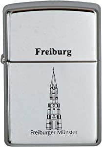 Original Zippo Feuerzeug Freiburg - Freiburger Münster