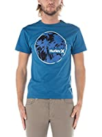 Nike Hurley Camiseta Manga Corta Eclipse Classic (Azul)