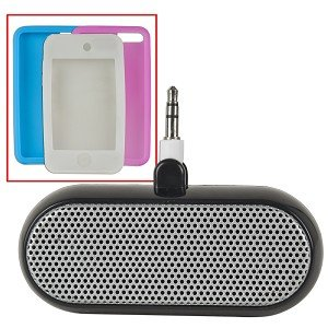 iVO-Sound Starter Kit for iPod touch w/Case, AC Adapter, Speakers, Silicon Cases & More!