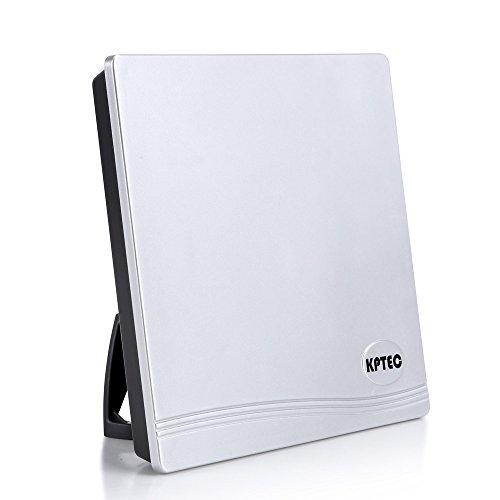 KPTEC Indoor Amplified HDTV VHF/UHF TV Antenna for Home Digital TV Reception