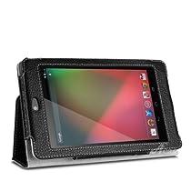 Acase Nexus7 ケース PU レザーケース for Google Nexus 7 ブラック ( スタンド 機能付 )新品価格 ¥1,980から