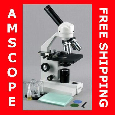 40X-1000X ADVANCED HOME SCHOOL COMPOUND MICROSCOPE