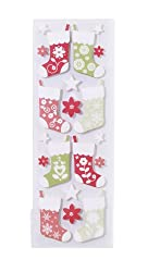 Martha Stewart Crafts Scandinavian Layered Stocking Stickers