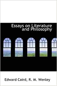 literary and philosophical essays