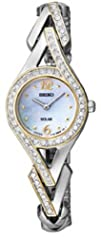 Seiko Womens SUP174 Jewelry-Solar Classic Watch