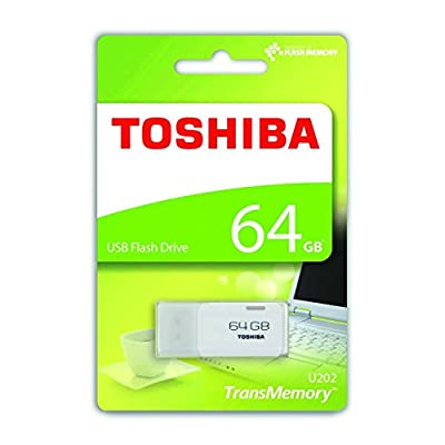 Toshiba Hayabusa USB Flash Memory 64 GB (White)