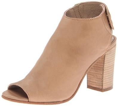 STEVEN by Steve Madden Women's Slaater Boot,Natural Leather,6 M US
