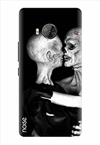 Noise Mr And Mrs Skull Printed Cover for HTC One Me